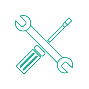 Service Icon Flat