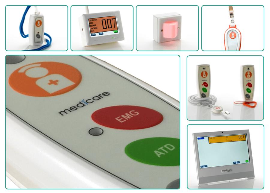 Medicare wireless nurse call product montage