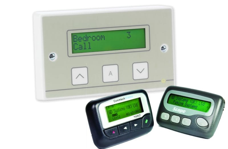 Pagers or Repeater Displays