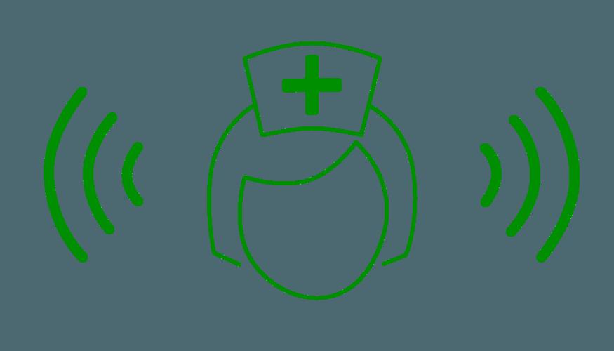 Wireless Nurse Green