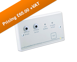QT637 enuresis bed exit interface